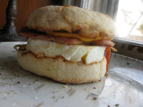 Breakfast on a Cold Day: Homemade McMuffins