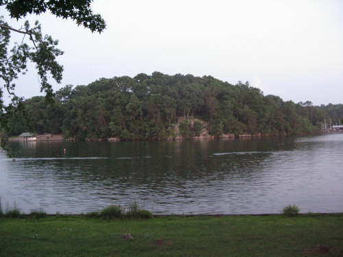 Lake View from the Cabin