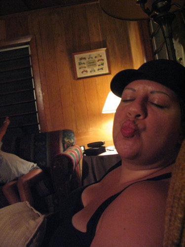 Late Night at the Cabin