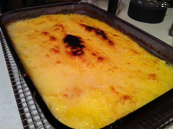 ... David Tanis, bravo. Making polenta for a crowd has never been so easy