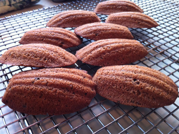 Baking with Samantha: Chocolate Madeleines
