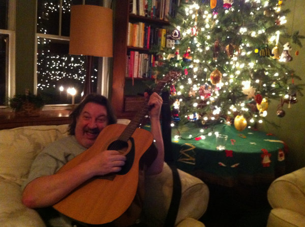 Greg singing carols
