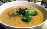 Chickpea Soup with Broccoli