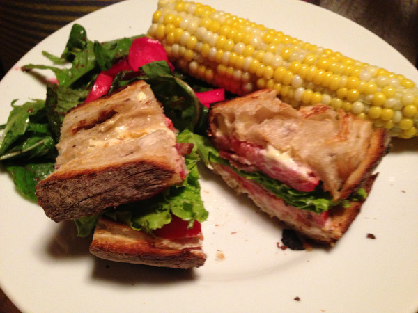 BLTs on the Porch