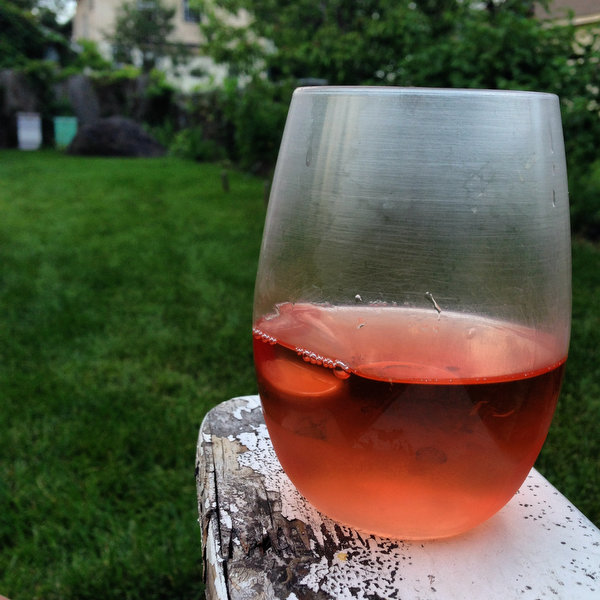 On the Longest Day of the Year, Rosé and a Beautiful Sunset