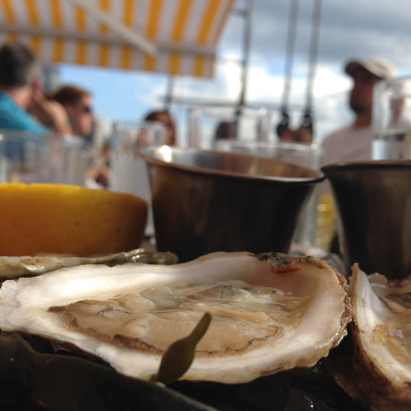 Grand Banks: The Floating Oyster Bar in NYC
